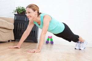 woman-doing-pushups-at-home