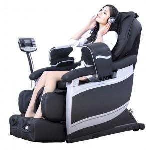 woman sitting on Massage Chair