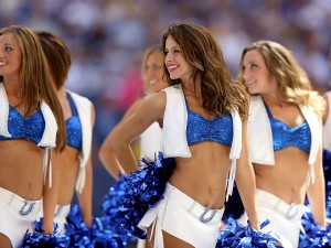women wearing cheerleader Uniforms