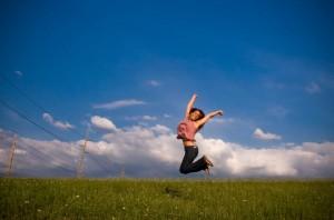 woman jumping 2