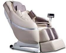 white massage chair