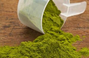 green flour