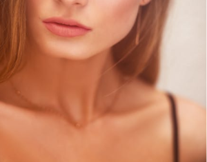 woman with Sexy Lips
