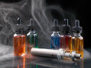e-juice and vaporizer